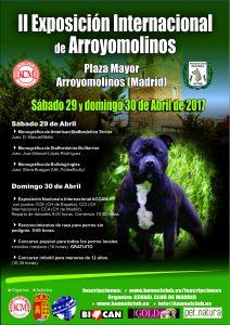 II Exposición Canina Internacional de Arroyomolinos 2017 @ Plaza Mayor de Arroyomolinos