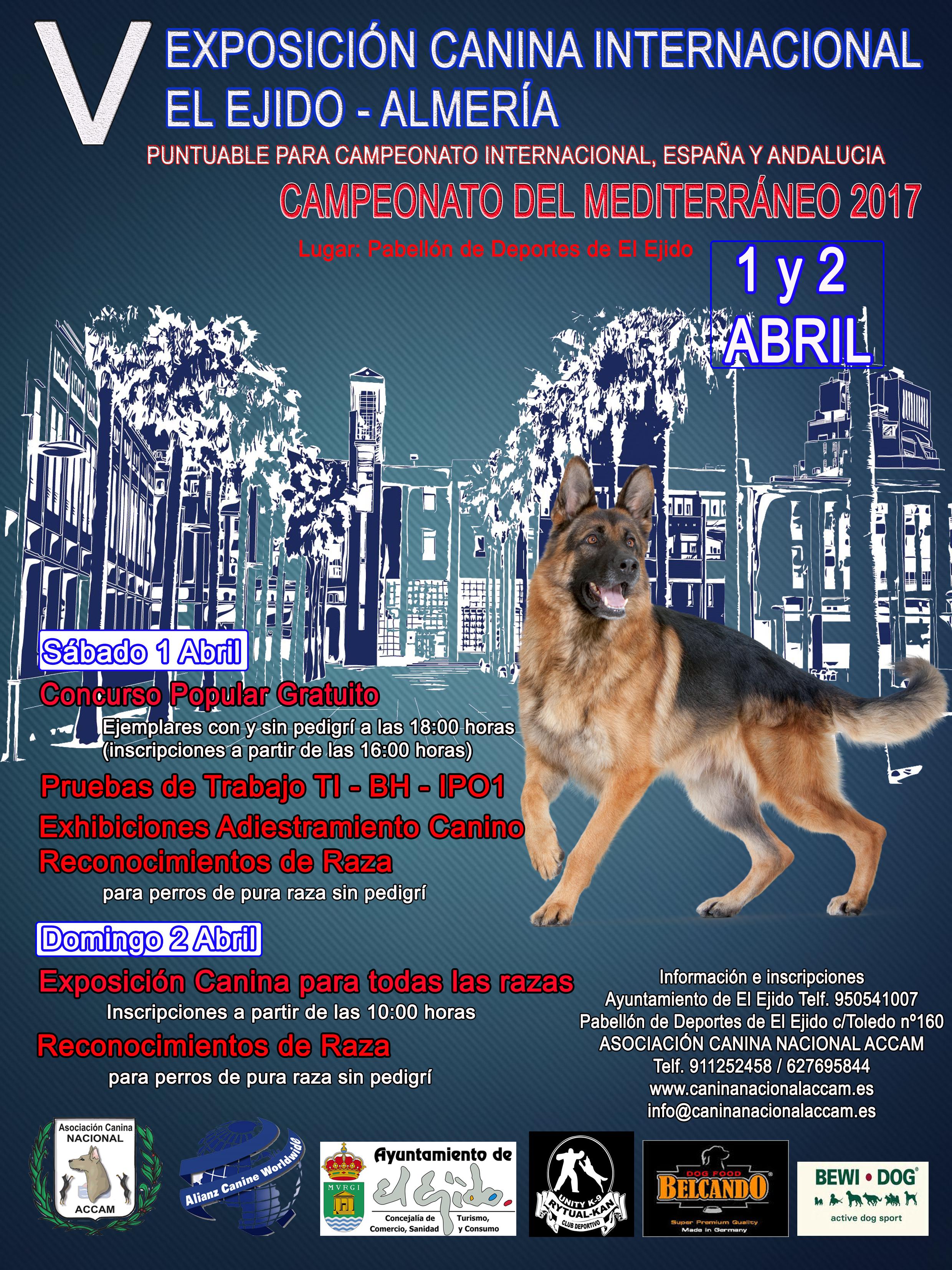 El Ejido dog show 2017