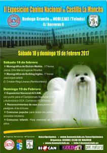 II Exposición Canina Nacional de Castilla La Mancha - Noblejas (Toledo) 2017 @ Bodega Grande de Noblejas