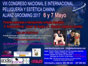 VIII Congreso Nacional e Internacional de Peluquería Canina Alianz Grooming 2017 @ Centro Oficial Integrado de Formaciones Agrarias CIFEA