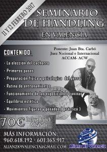 Seminario Handling Alianz Valencia 2017 @ Alianz K9 Valencia