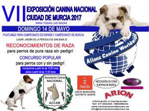 VII Exposición Canina Nacional Ciudad de Murcia 2017 @ Jardín de la Pérgola de San Basilio de Murcia
