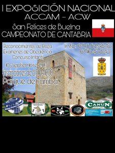 I Exposición Canina Nacional San Felices de Buelna - Campeonato de Cantabria 2017 @ San Felices de Buelna, Cantabria