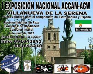 I Exposición Canina Nacional Villanueva de la Serena - Badajoz 2017