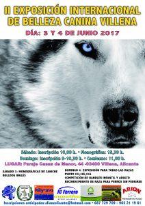 II Exposición Canina Internacional Villena, Alicante - Junio 2017 @ Complejo JC Ferrero Equelite