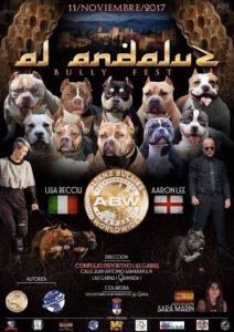 Doble Monográfica Oficial del American Bully ABW España Las Gabias - Granada - Noviembre 2017 @ Pabellón Deportivo de Las Gabias