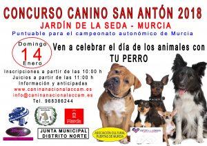 Concurso Canino de Murcia 2018 @ Jardín de la Seda de Murcia