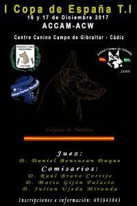 I Copa de España T.I ACCAM - ACW @ Centro Canino Campo de Gibraltar