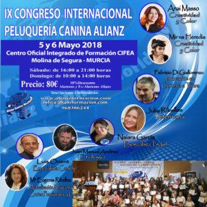 IX Congreso Alianz Internacional Peluquería Canina 2018 @ CIFEA