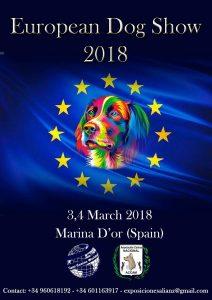 European Dog Show Marina D´Or 2018 @ Marina d´Or - Castellón - España