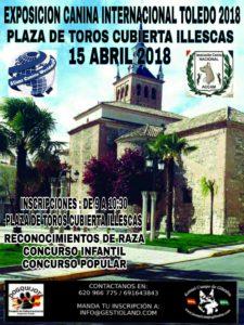 Exposición Canina Internacional Illescas- Toledo 2018 @ Plaza de Toros de Illescas - Toledo