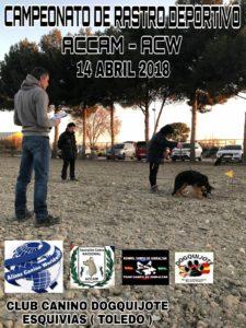 Campeonato de Rastro Deportivo Illescas 2018 @ Plaza de Toros de Illescas - Toledo
