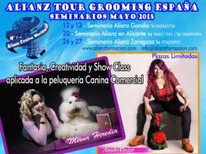 ALIANZ TOUR GROOMING MAYO 2018 @ Centros Formación Alianz Gandia-Alicante-Zaragoza