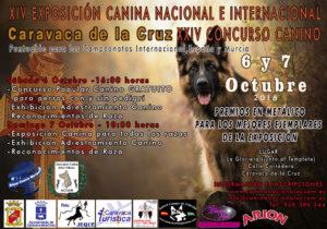 XIV Exposición Canina Nacional e Internacional y XXIV Concurso Canino de Caravaca de la Cruz 2018 @ La Glorieta junto al Templete