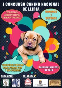 I Concurso Canino Nacional de Lliria - Valencia 2018 @ Parque Silvestre de Edeta (De la Bombilla)