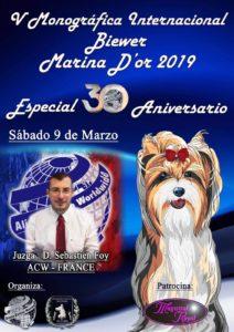 Monográfica Biewer 30 Aniversario ACCAM-ACW Marina d´Or 2019