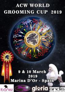 Competición Peluqueria Canina Alianz Grooming Marina d´Or 2019 30º ANIVERSARIO Alianz Canine Worldwide @ Marina d´Or