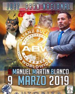 Monográfica ACW American Bully 30 Aniversario European Dog Show Marina d´Or 2019 @ Marina d´Or