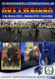 Monográfica Internacional raza Rottweiler 30 Aniversario ACCAM-ACW Marina d ´Or 2019 @ Marina d´Or