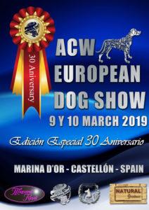 Exposición European Dog Show Alianz - Edición Especial 30 Aniversario -Marina d´Or 2019 @ Marina d´Or
