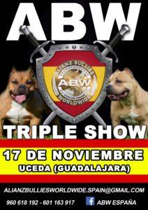 ABW Alianz Bullies Worldwide Show Uceda- Guadalajara 2018 @ Polideportivo Municipal Uceda, Guadalajara