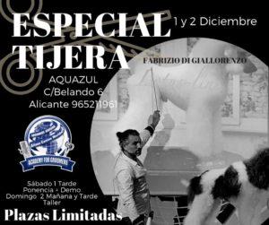 Seminario Especial Tijera con Fabrizio Di Giallorenzo de Italia en Centro de Formación ACW Alicante @ Centro de Formación Alianz Alicante