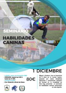 Seminario ACW Discdog con Miguel Peiró 2018