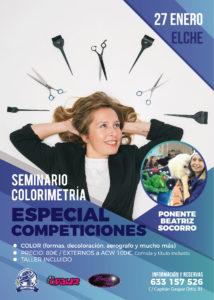 Seminario Taller Colorometria Especial Competiciones ACW Elche 2019 @ Centro Alianz Formación Elche