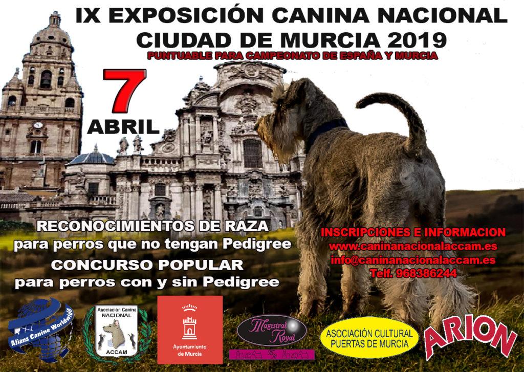 IX Exposición Canina Nacional Ciudad de Murcia 2019