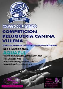 Competición de Grooming ACW en Villena 2019 @ Club de Tenis Juan Carlos Ferrero de Villena